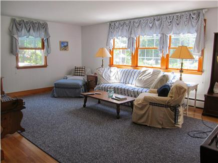 North Eastham Cape Cod vacation rental - Bright and sunny living room