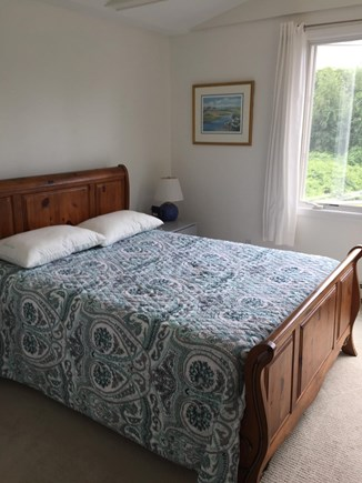 Chatham Cape Cod vacation rental - Master Bedroom (Queen Bed) w/ Private Bath (Tub) and Sitting Area