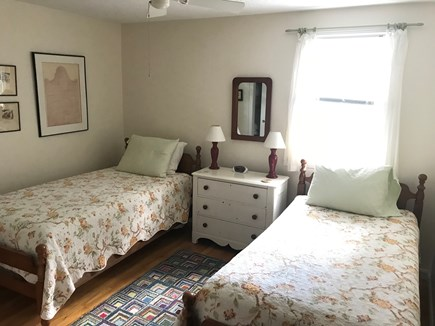 Brewster Cape Cod vacation rental - Twin beds in 1st floor bedroom