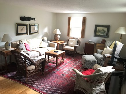 Brewster Cape Cod vacation rental - Living room with Smart TV