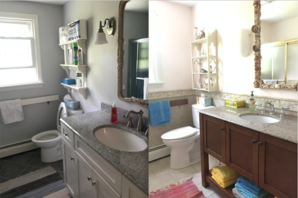 Brewster Cape Cod vacation rental - Newly remodeled bathrooms on 1st and 2nd floors