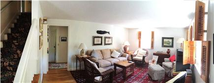 Brewster Cape Cod vacation rental - Living room w/ large-screen TV