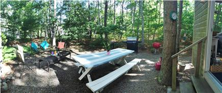 Brewster Cape Cod vacation rental - Patio with seating and grill