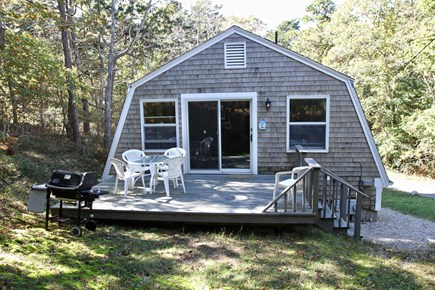 Wellfleet Cape Cod vacation rental - Private, quiet, wooded setting with sunshine, birds and blue sky.