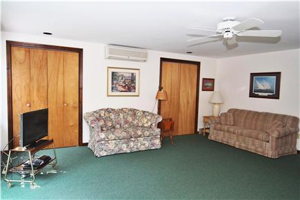 Wellfleet Cape Cod vacation rental - Living Room. Very comfortable seating, cable TV and ceiling fan.