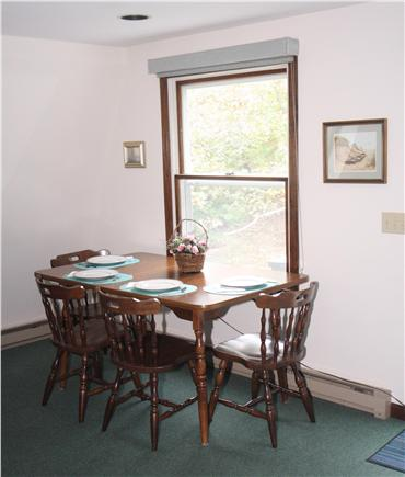 Wellfleet Cape Cod vacation rental - Dining Area. Comfortable seating with a pretty view.