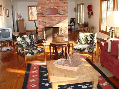 Wellfleet Cape Cod vacation rental - Huge Living room overlooking the water views.