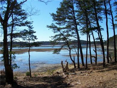 Wellfleet Cape Cod vacation rental - WOW look at that view at high tide, just beautiful.