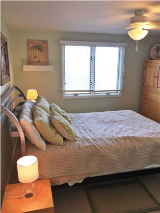 North Eastham Cape Cod vacation rental - ''Green Queen'' bedroom with views of conservation land