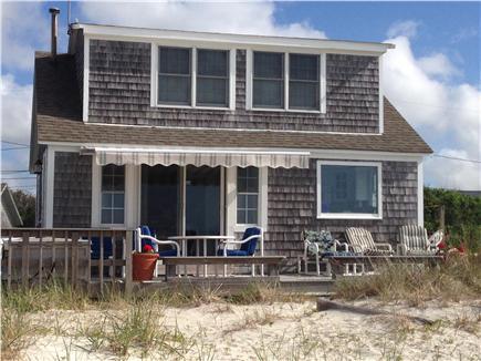 West Dennis,on the beach Cape Cod vacation rental - Dennis vacation rental ID 9383 facing South on Nantucket Sound