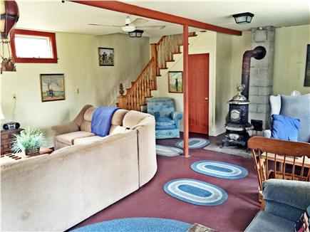 Yarmouthport historic 6A Cape Cod vacation rental - Rumpus room in the barn, great for the kids!