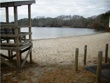 Yarmouthport historic 6A Cape Cod vacation rental - Dennis Pond, easy 5 min. walk, life guard on duty