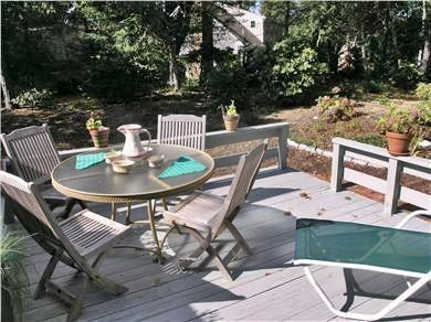 Chatham Cape Cod vacation rental - Sip a cool lemonade on this lovely deck
