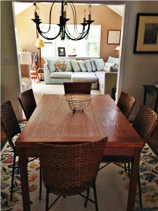 Chatham Cape Cod vacation rental - Dining Room opens to new Kitchen and family room