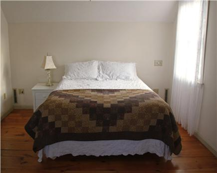 Brewster Cape Cod vacation rental - Sunny, upstairs queen bedroom with separate sitting room