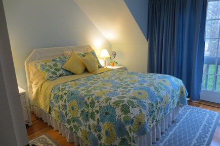 New Seabury New Seabury vacation rental - Upstairs Master with queen bed & Juliette balcony