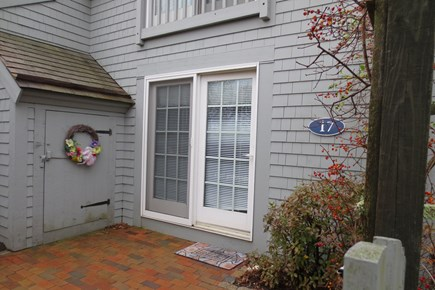 New Seabury New Seabury vacation rental - Entrance on front patio through sliders