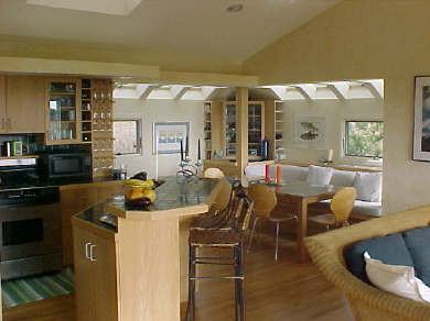Truro Cape Cod vacation rental - Kitchen and dining room