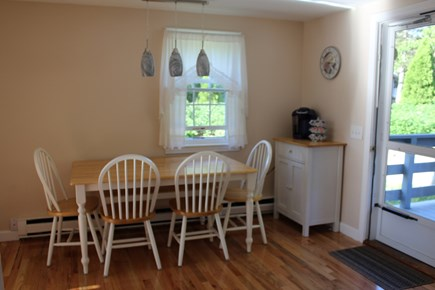 Dennis Port Cape Cod vacation rental - Kitchen table that seats six