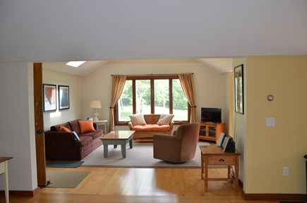 Eastham Cape Cod vacation rental - Spacious, sunny living room