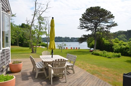Eastham Cape Cod vacation rental - View from deck