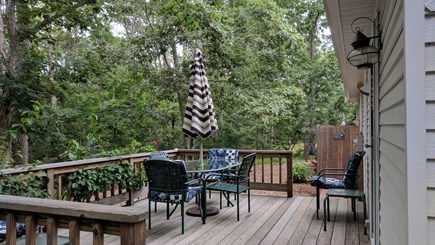 North Eastham Cape Cod vacation rental - Backyard and deck
