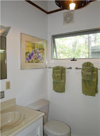 Wellfleet Cape Cod vacation rental - One of two full bathrooms
