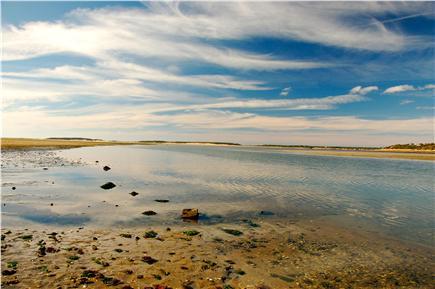 Wellfleet Cape Cod vacation rental - Wellfleet bay beach--5 minute walk from cottage