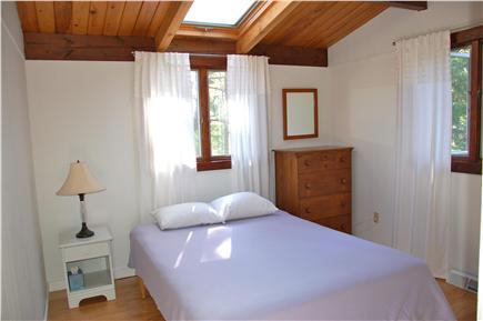 Wellfleet Cape Cod vacation rental - 2nd bedroom queen bed with skylight