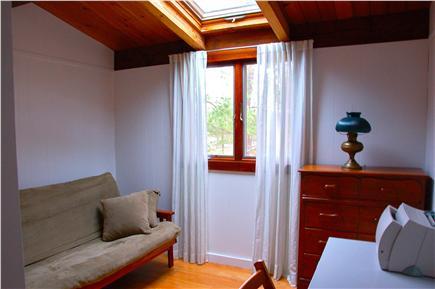 Wellfleet Cape Cod vacation rental - 3rd bedroom, futon converts to double bed, skylight, desk