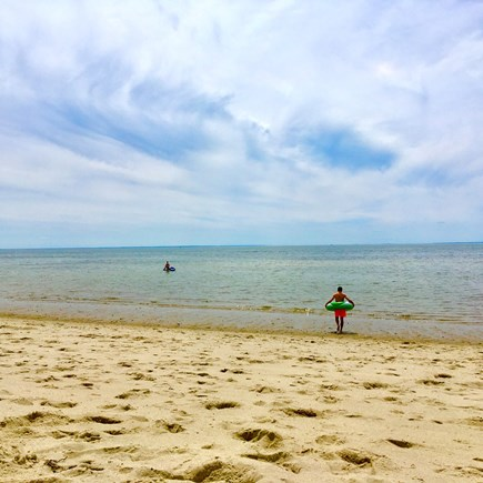 Truro Cape Cod vacation rental - Nearby Corn Hill beach, on a gentle Cape Cod Bay summer day.