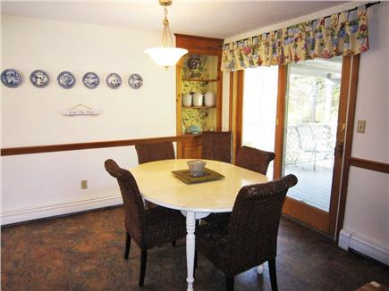Orleans Cape Cod vacation rental - Dining area off kitchen