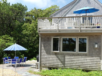 Eastham Cape Cod vacation rental - Second floor deck and patio