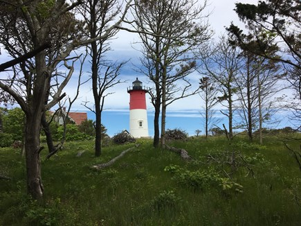 Eastham Cape Cod vacation rental - Nauset Lighthouse right next door