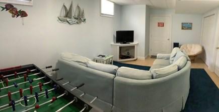 Eastham Cape Cod vacation rental - Basement TV/Rec Room