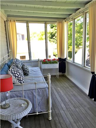 Provincetown, East End Cape Cod vacation rental - Second Floor Sleeping Porch Where You Can Hear the Ocean Waves.