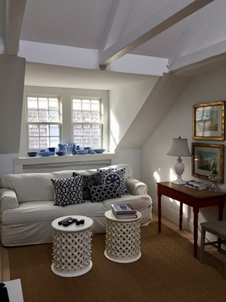 Provincetown, East End Cape Cod vacation rental - Upstairs TV Room