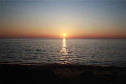 Eastham Cape Cod vacation rental - Sunset on Cape Cod Bay
