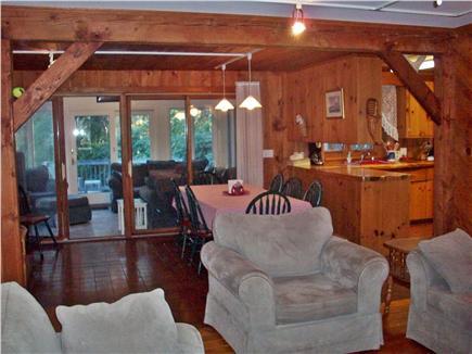 South Wellfleet Cape Cod vacation rental - Open first floor plan