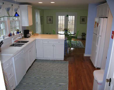 East Dennis Cape Cod vacation rental - The Kitchen is Fabulous and has Everything !