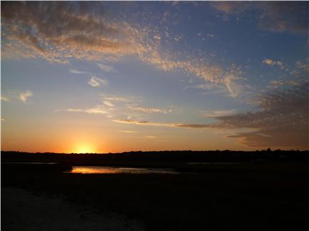 Chatham Cape Cod vacation rental - Sunset - the view from wraparound deck