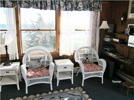 Chatham Cape Cod vacation rental - Family Room - cross breezes and sounds of ocean