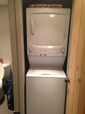 Eastham Cape Cod vacation rental - Washer/dryer in half bath