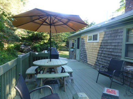 Eastham Cape Cod vacation rental - Private deck for grilling, eating, sunning
