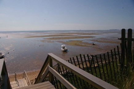 Eastham Cape Cod vacation rental - Bay at low tide, tidal pools, children's discovery haven!