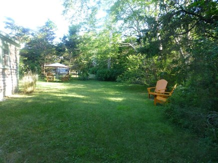 Eastham Cape Cod vacation rental - Spacious private side yard