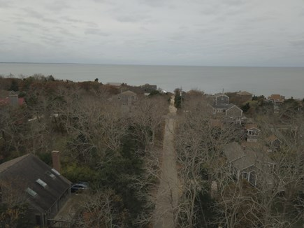 Eastham Cape Cod vacation rental - View from cottage to beach