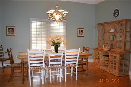 South Chatham - close to Ridge Cape Cod vacation rental - Dining Room