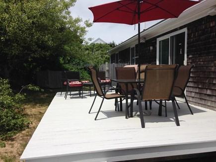 Wellfleet Cape Cod vacation rental - Back porch