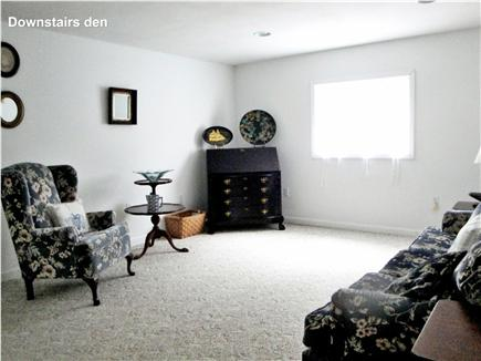 Wellfleet Cape Cod vacation rental - Downstairs Living Room